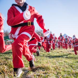 Chertsey Scouts Santa Run