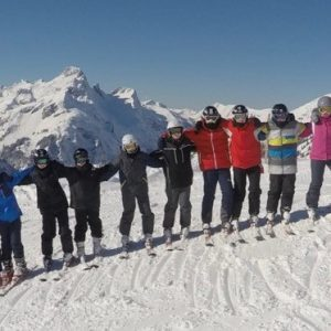 1st Lingfield and Dormansland Hit the Slopes